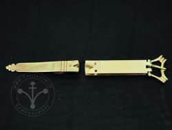 St-20 Buckle and strapend set for 14th-15th cent.